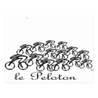 Peloton Post Card