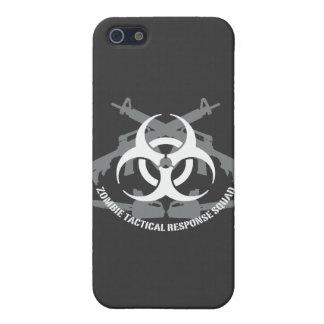 Pelotón táctico de la respuesta del zombi iPhone 5 carcasa