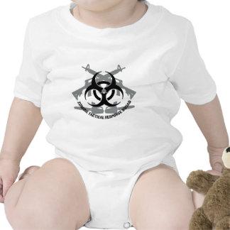 Pelotón táctico de la respuesta del zombi traje de bebé