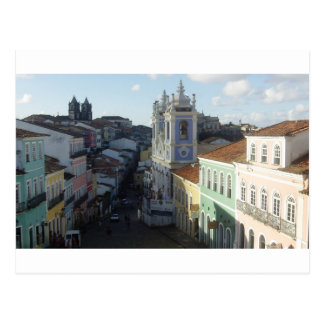 Pelourinho, Salvador, Bahia, Brazil Postcard
