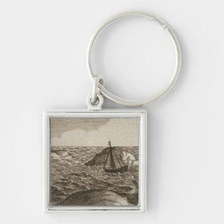 Pelsaert Sets Sail   Way Between Islands, Key Chain