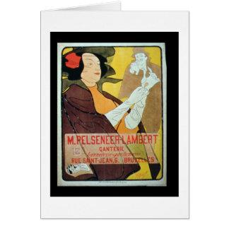 'Pelseneer-Lambert Glove Makers, Millinery and Per Greeting Cards
