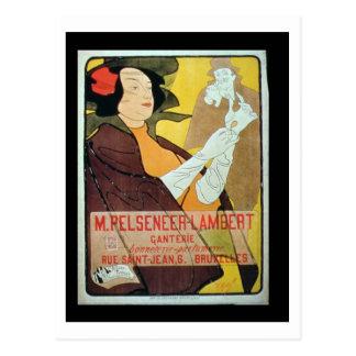 'Pelseneer-Lambert Glove Makers, Millinery and Per Post Cards