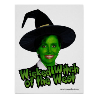 Pelsoi Wicked Witch of the West Poster