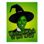Pelsoi: Wicked Witch of the West Print