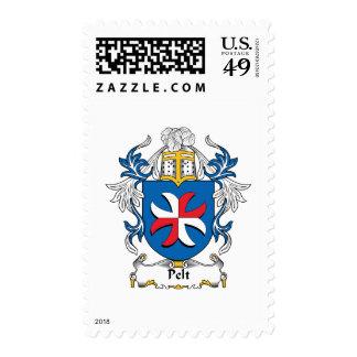 Pelt Family Crest Postage Stamp