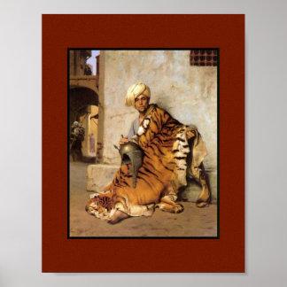 Pelt Merchant of Cairo Canvas Print