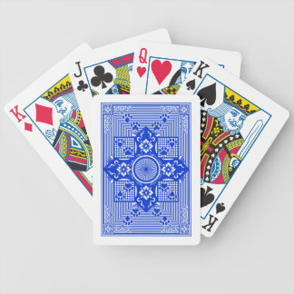 Pelted Primacy Blue Back Bicycle Playing Cards