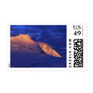 Peltier Channel, Antarctica: Sunlit Mountains Stamp