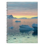 Peltier Channel in the last light of the day Notebooks