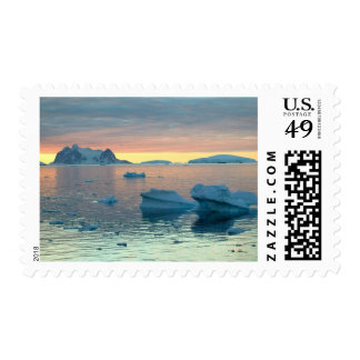Peltier Channel in the last light of the day Postage Stamp