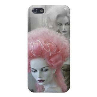 Peluca rosada de Marie Antonieta iPhone 5 Funda
