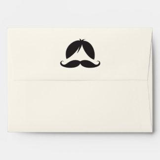 Peluca y bigote retros de las rayas sobre
