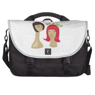 Pelucas intrépidas bolsas para ordenador