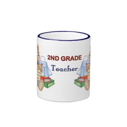 Peluche de los días escolares - 2do profesor del taza a dos colores