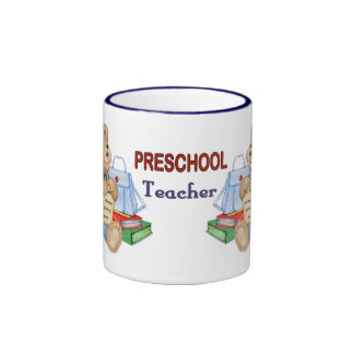 Peluche de los días escolares - profesor taza a dos colores