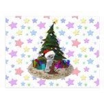 Peluche del árbol de navidad postales