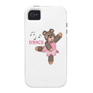 PELUCHE DEL BALLET DE LA DANZA iPhone 4 CARCASAS