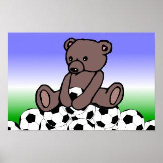 Peluche del fútbol poster