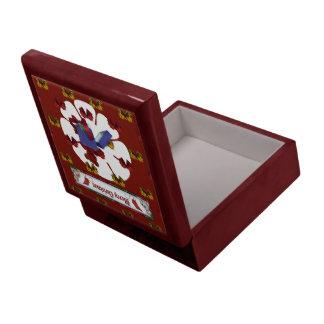 Peluche del navidad caja de recuerdo