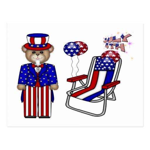 Peluches 4tos de la silla de julio postal