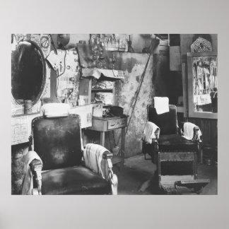 Peluquería de caballeros de Atlanta: 1936 Póster