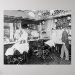 Peluquería de caballeros de New York City, 1895