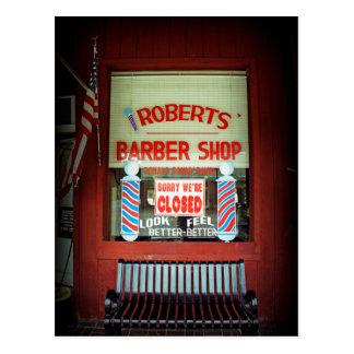 Peluquería de caballeros de Roberts Tarjetas Postales