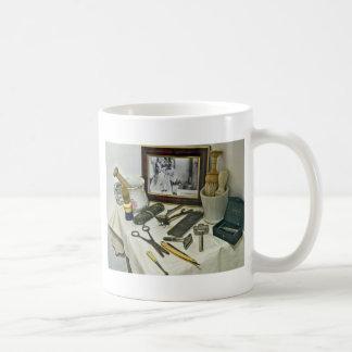 Peluquería de caballeros tazas de café