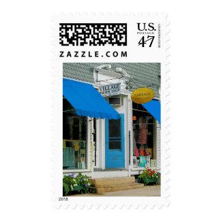 Peluquería de caballeros y tienda de ropa sellos