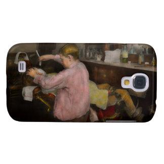 Peluquero - afeitando - fe en un niño - 1917 carcasa para galaxy s4