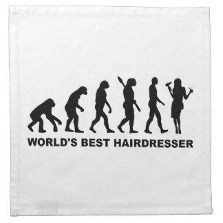 Peluquero del mundo de la evolución el mejor