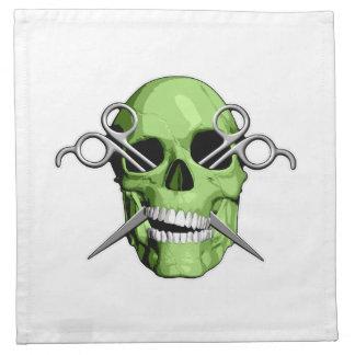 Peluquero del zombi servilletas de papel