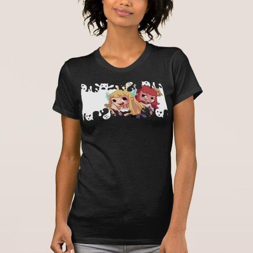 Peluquero diabólico camiseta