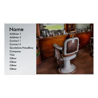 Peluquero - el estilista tarjetas de visita
