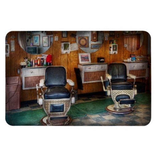 Peluquero - Frenchtown, NJ - dos sillas de peluque Imán De Vinilo
