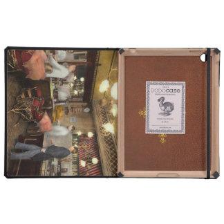 Peluquero - L.C. Wiseman Barbershop, NY 1895 iPad Cárcasa