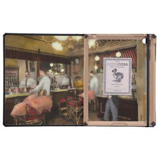 Peluquero - L.C. Wiseman Barbershop, NY 1895 iPad Cobertura