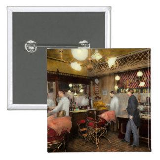 Peluquero - L.C. Wiseman Barbershop, NY 1895 Pin