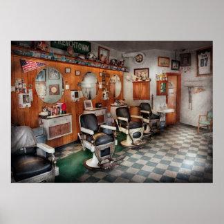 Peluquero - peluqueros de Frenchtown Poster