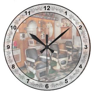 Peluquero - peluqueros de Frenchtown Relojes De Pared