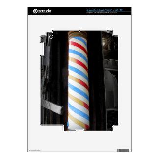 Peluquero poste iPad 3 skin