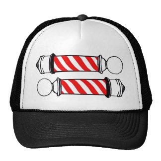 Peluquero postes gorro de camionero