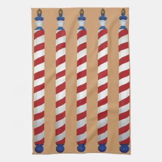 Peluquero postes toallas de cocina