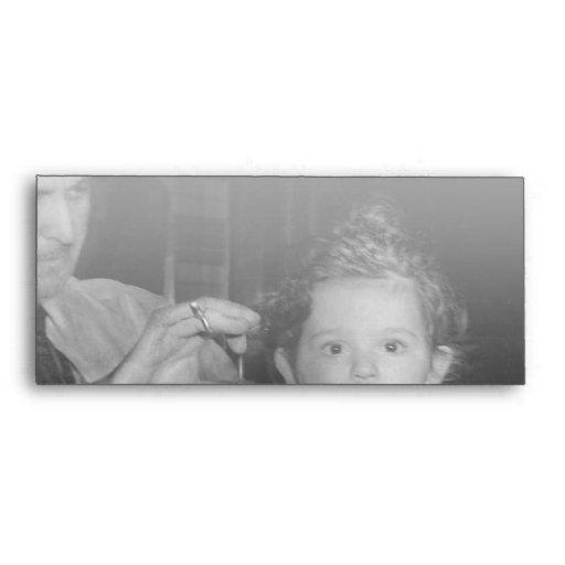 Peluquero - primer corte de pelo sobres