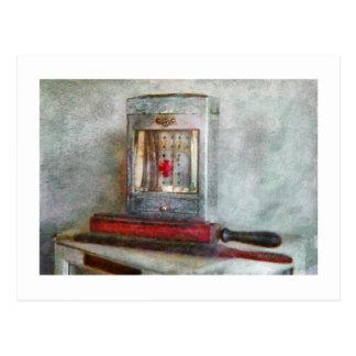 Peluquero - siempre manténgalo limpio postal