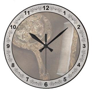 Peluquero - soy tan bonito reloj redondo grande