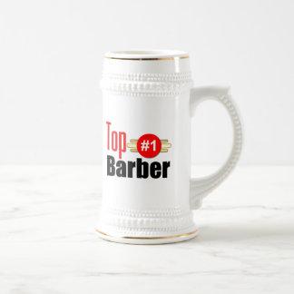 Peluquero superior tazas de café
