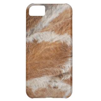 Pelusa de la jirafa funda para iPhone 5C