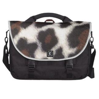 Pelusa del leopardo bolsas para ordenador